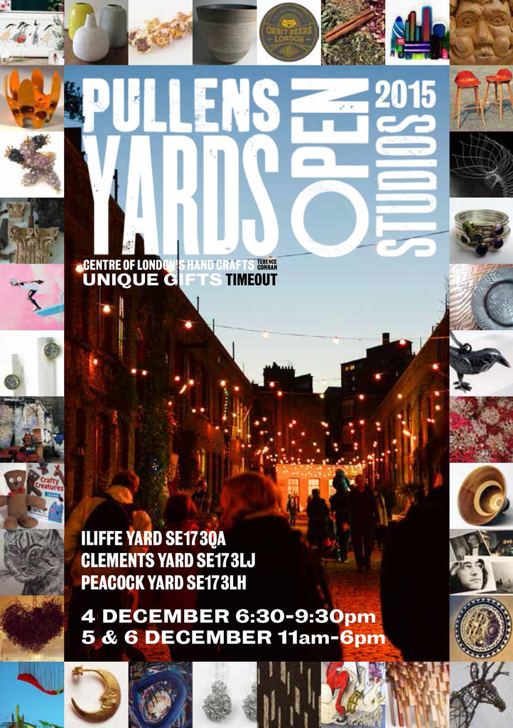 Gas Gallery at Pullens Yard open studios: December 2015