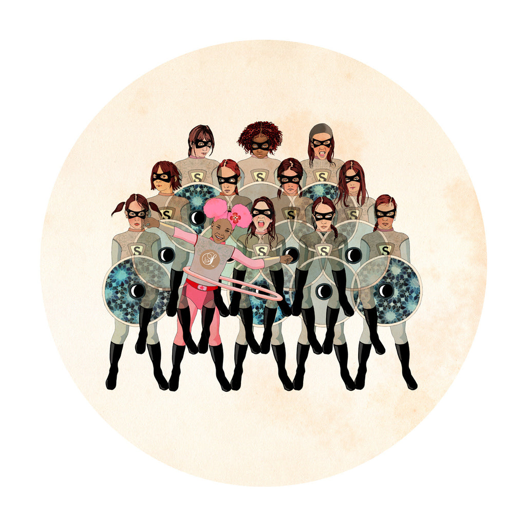Rebel II by Delphine Lebourgeois at Gas Gallery
