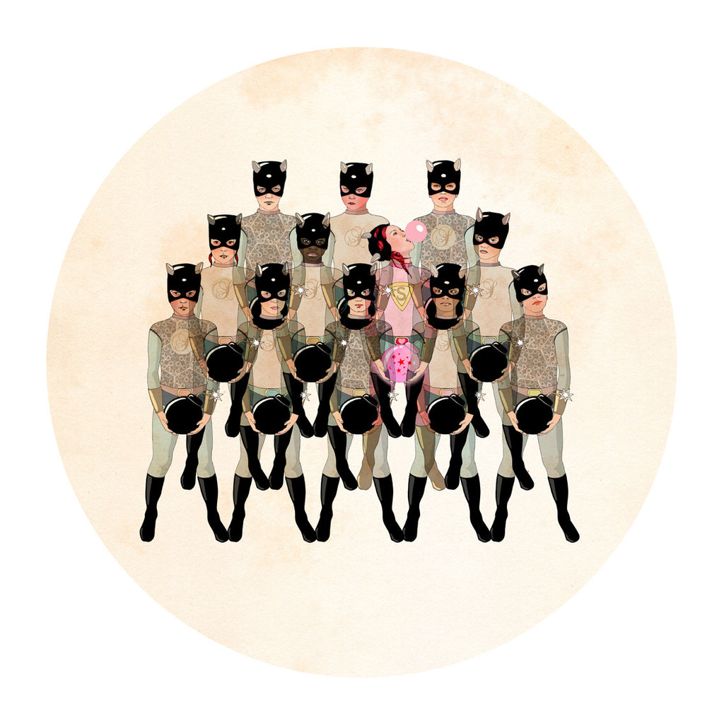 Rebel 1 by Delphine Lebourgeois