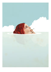 Delphine Lebourgeois print Smoke II at Gas Gallery