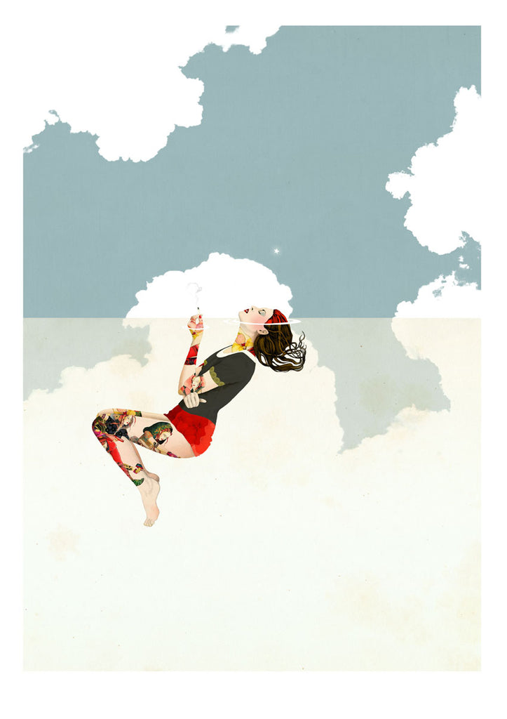 Delphine Lebourgeois Print Smoke I at Gas Gallery