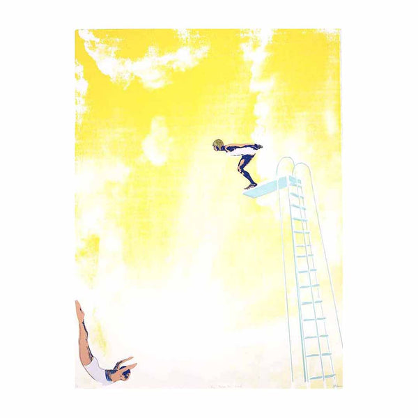 Anna Marrow Yellow Diving Board