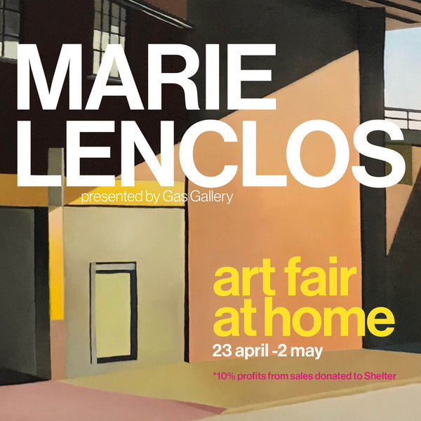 Marie Lenclos Art Fair at Home with Gas Gallery