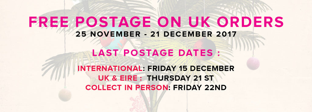 Gas Gallery Postage Dates for Christmas