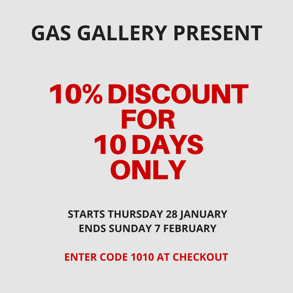 Gas Gallery discount offer 10 days only