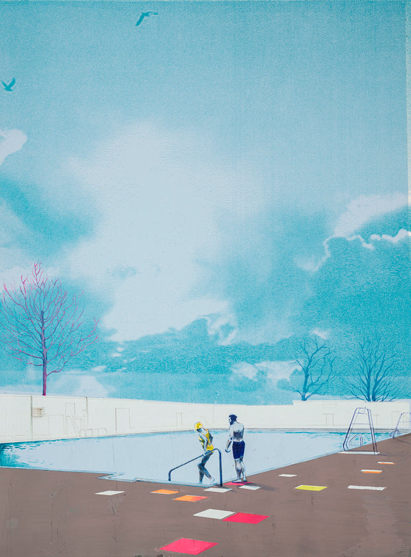 Anna Marrow Originals - 'Winter Swim' - Original, 2020