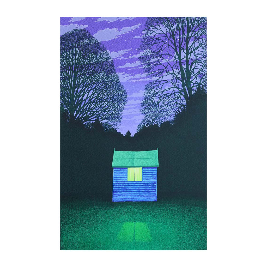 Martin Grover - Blue Shed - 2016
