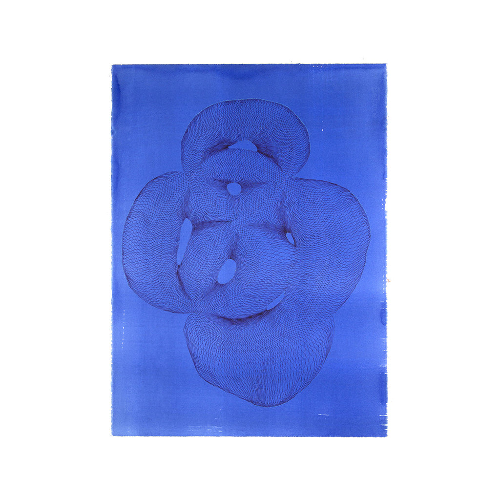 Natalie Ryde - Blue Floating Form M Theory - 2016