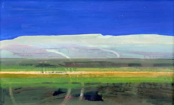 Michael Burles - Hills, Field and Blue Sky