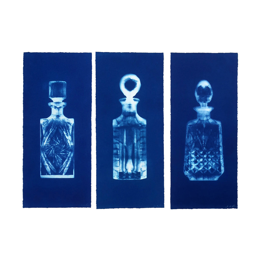 Jo de Pear - Decanters Set 2 : Blue