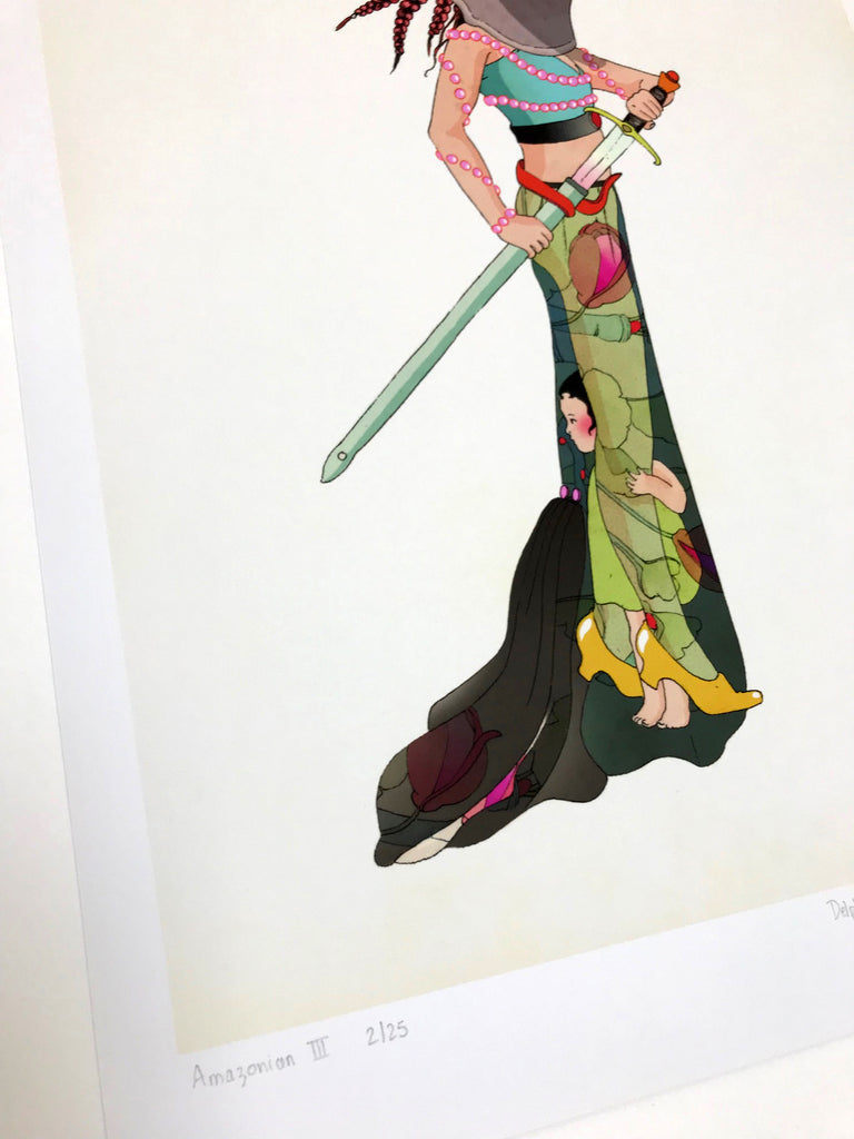 Amazonians by Delphine Lebourgeois exclusive to Pop Art Femmes exhibition