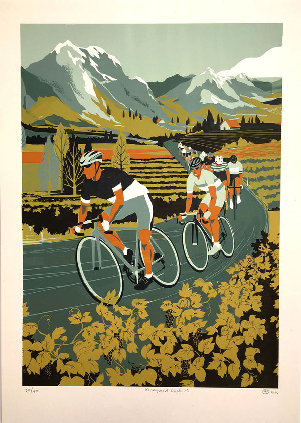 Eliza Southwood - Vineyard Cycling