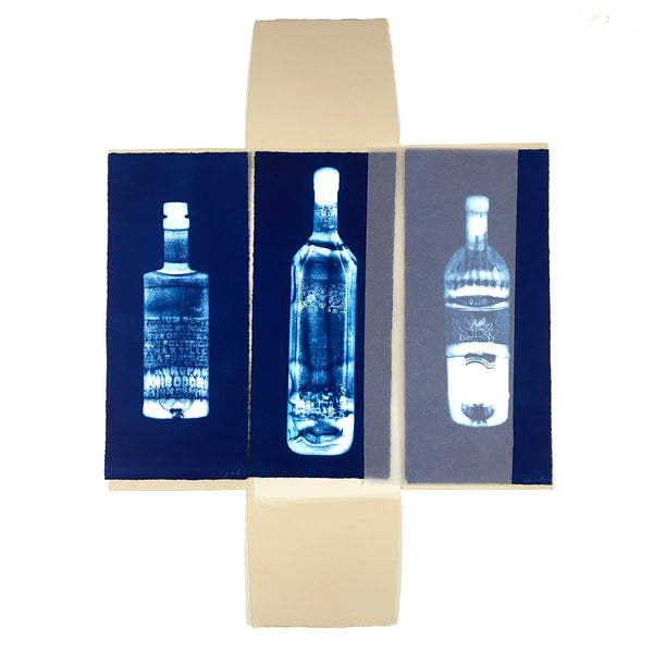 Jo de Pear -  Set of 3 Gin Bottles