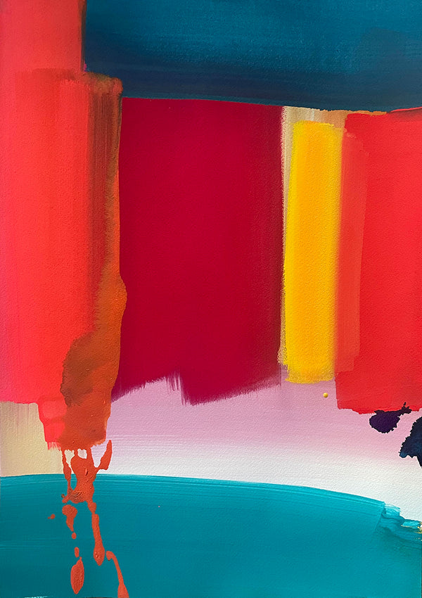 Ptolemy Mann -  Indian Odyssey (Red + Teal)  2021