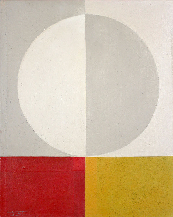 Jane Fredericks -  Abstract Red + Yellow - 2020