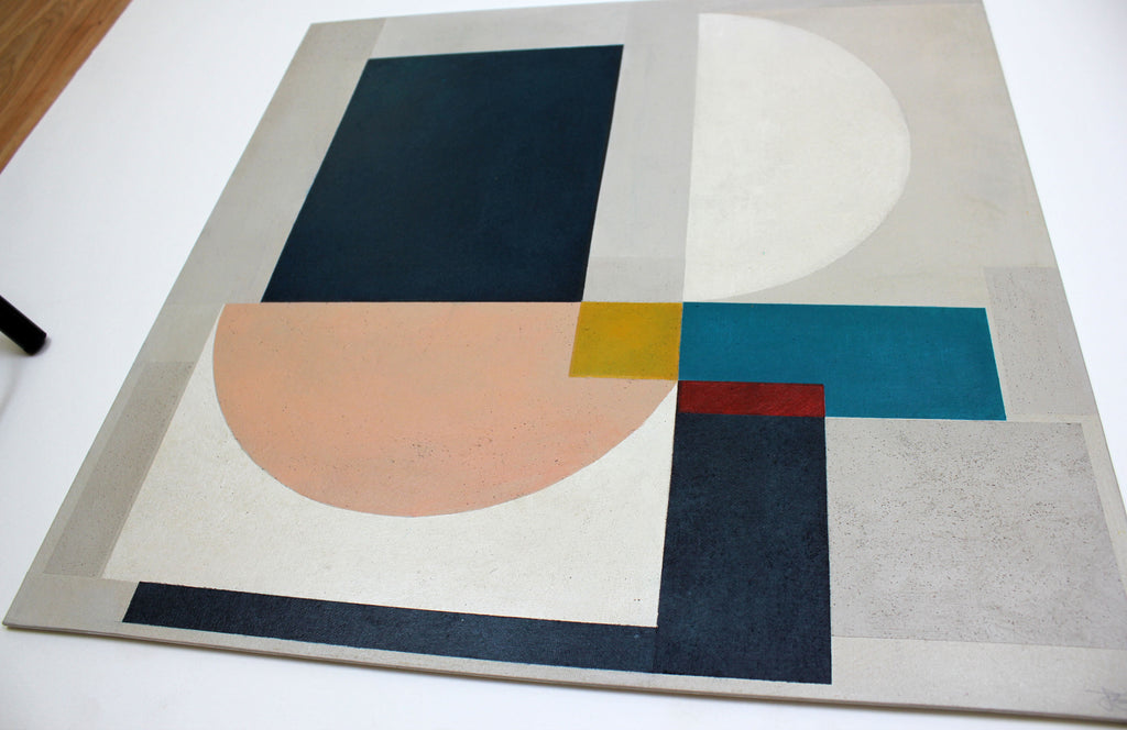 Jane Fredericks -  Abstract Square #2 - 2020