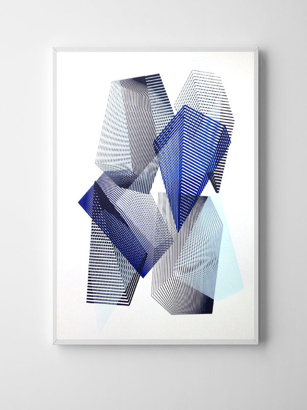 KATE BANAZI screenprint