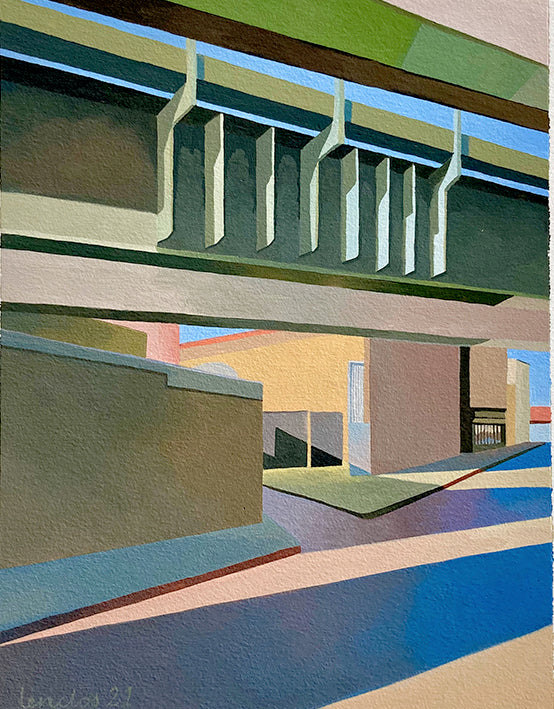 Marie Lenclos - Green Bridge, 2021