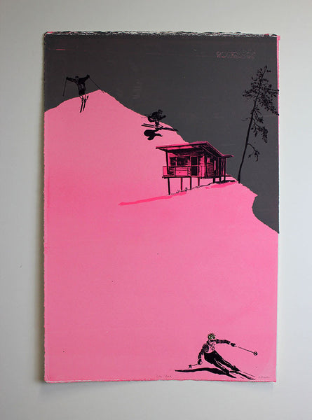 Anna Marrow screenprint
