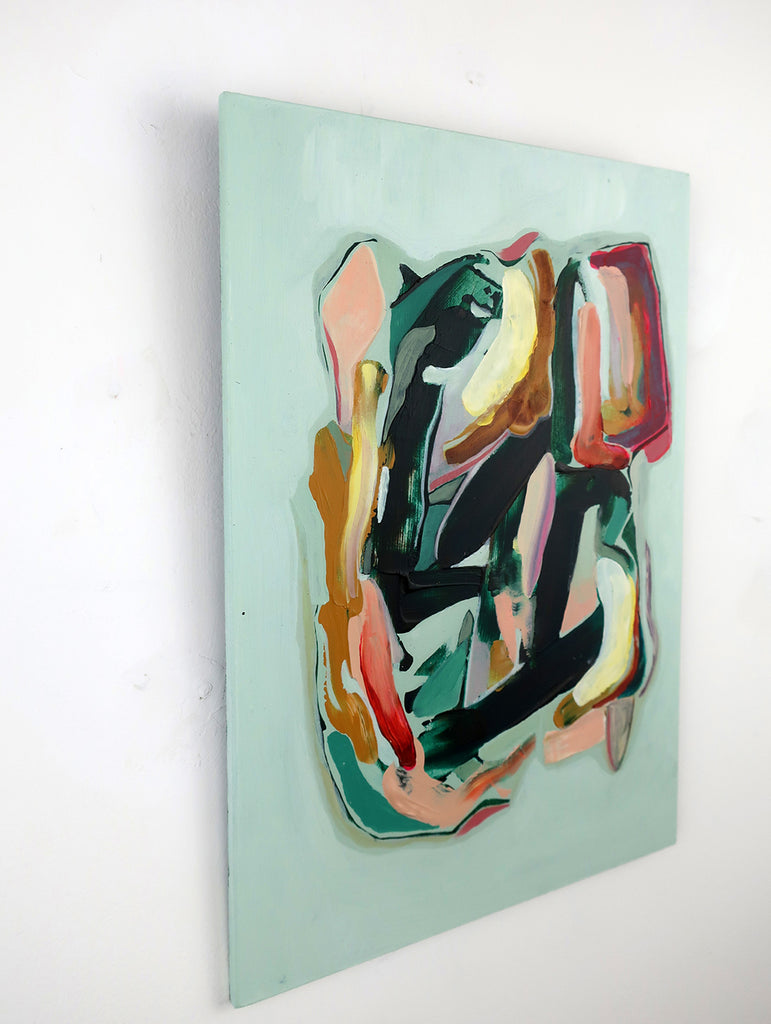 Marleen Pennings :  Colour Study in Green #1