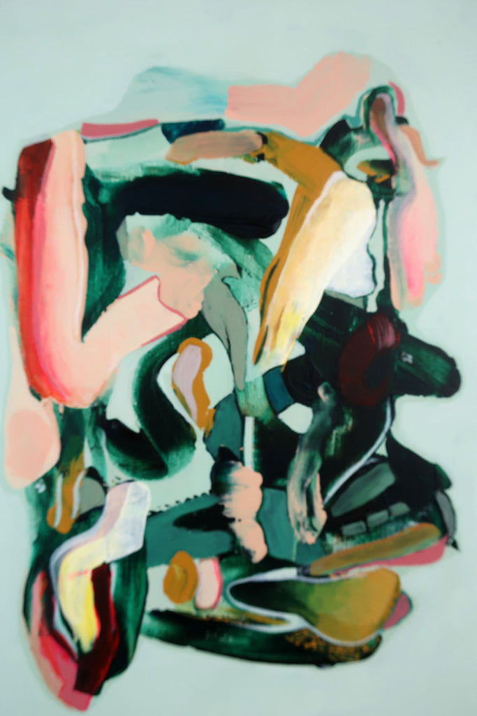 Marleen Pennings :  Colour Study in Green #2