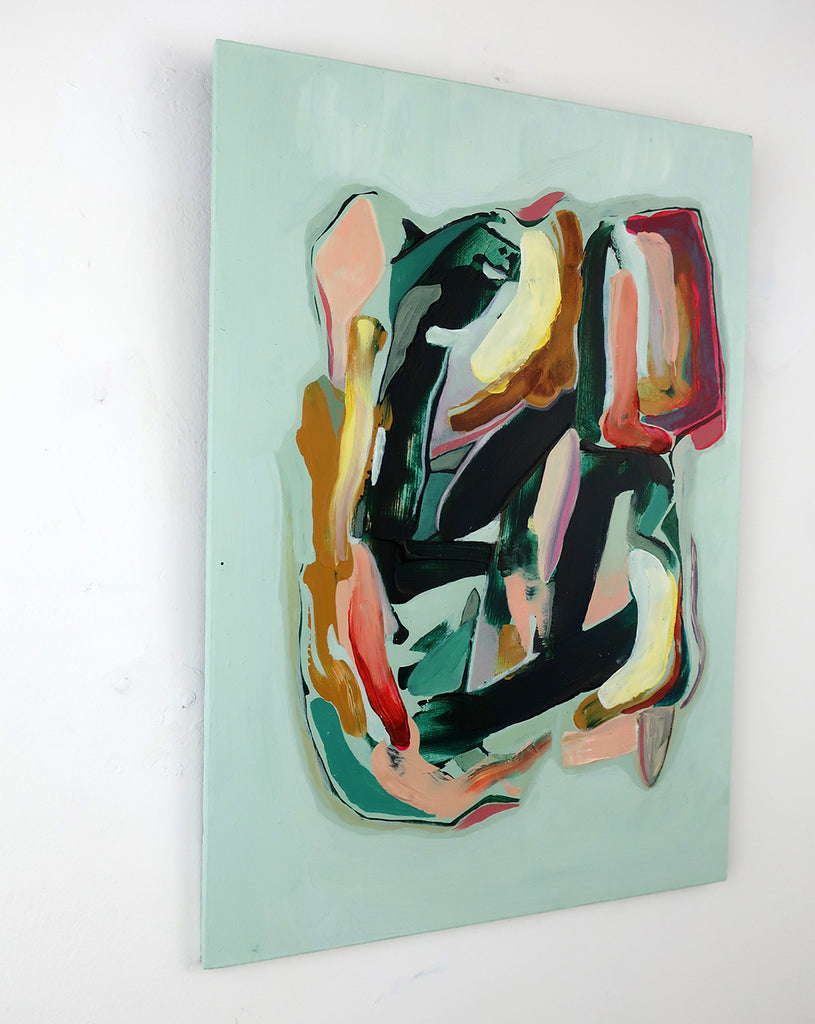 Marleen Pennings :  Colour Study in Green #3