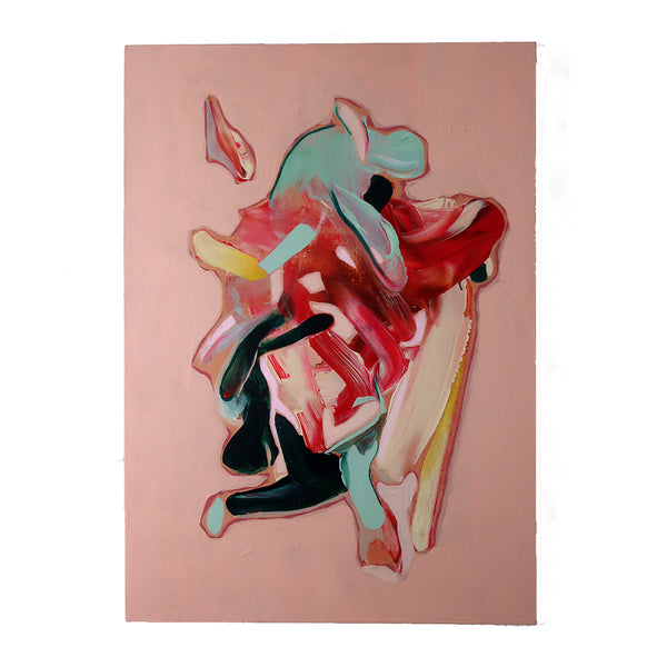 Marleen Pennings :  Colour Study in Pink #2