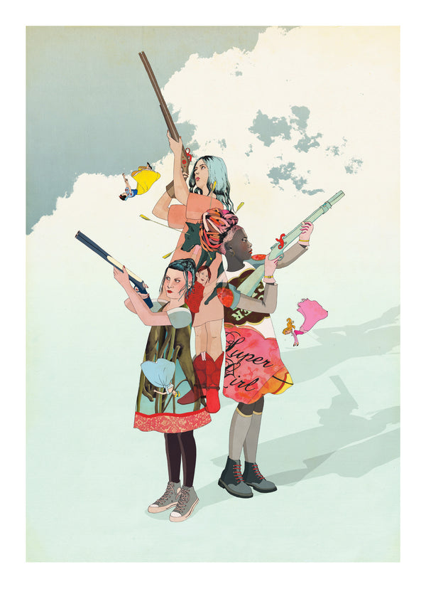 Delphine Lebourgeois print at Gas Gallery