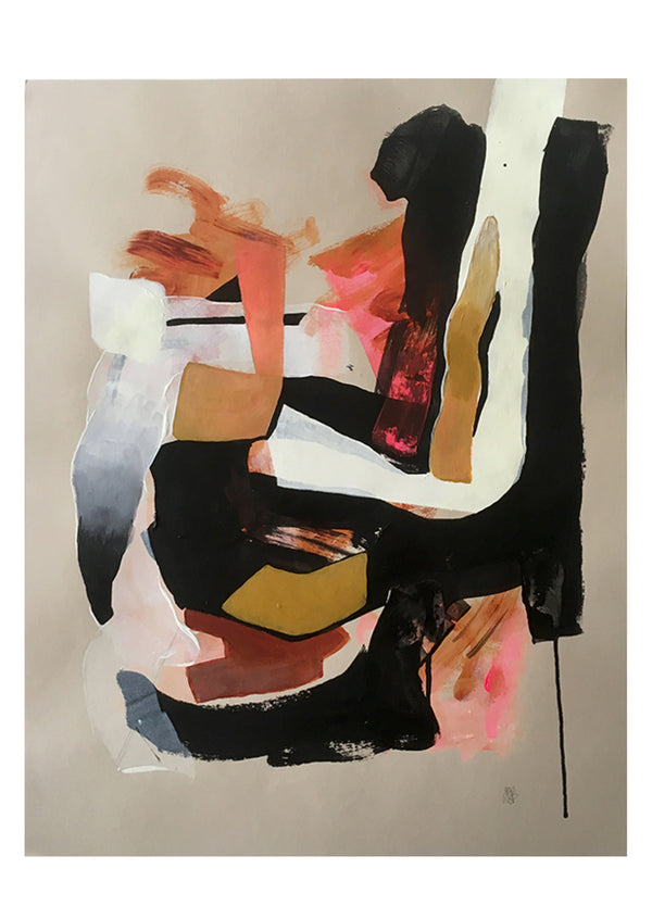 Marleen Pennings Abstract Paintings