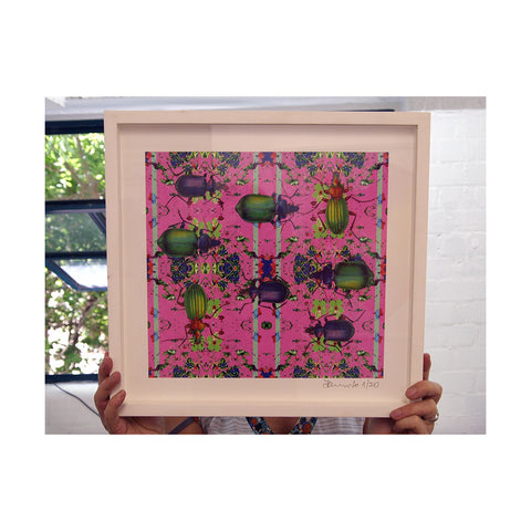 Fernando Mialski - Broken Beetles - Framed Ex-Display