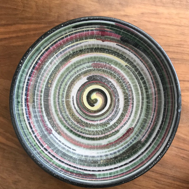Large Rye Pottery Galaxy Bowl 1950's