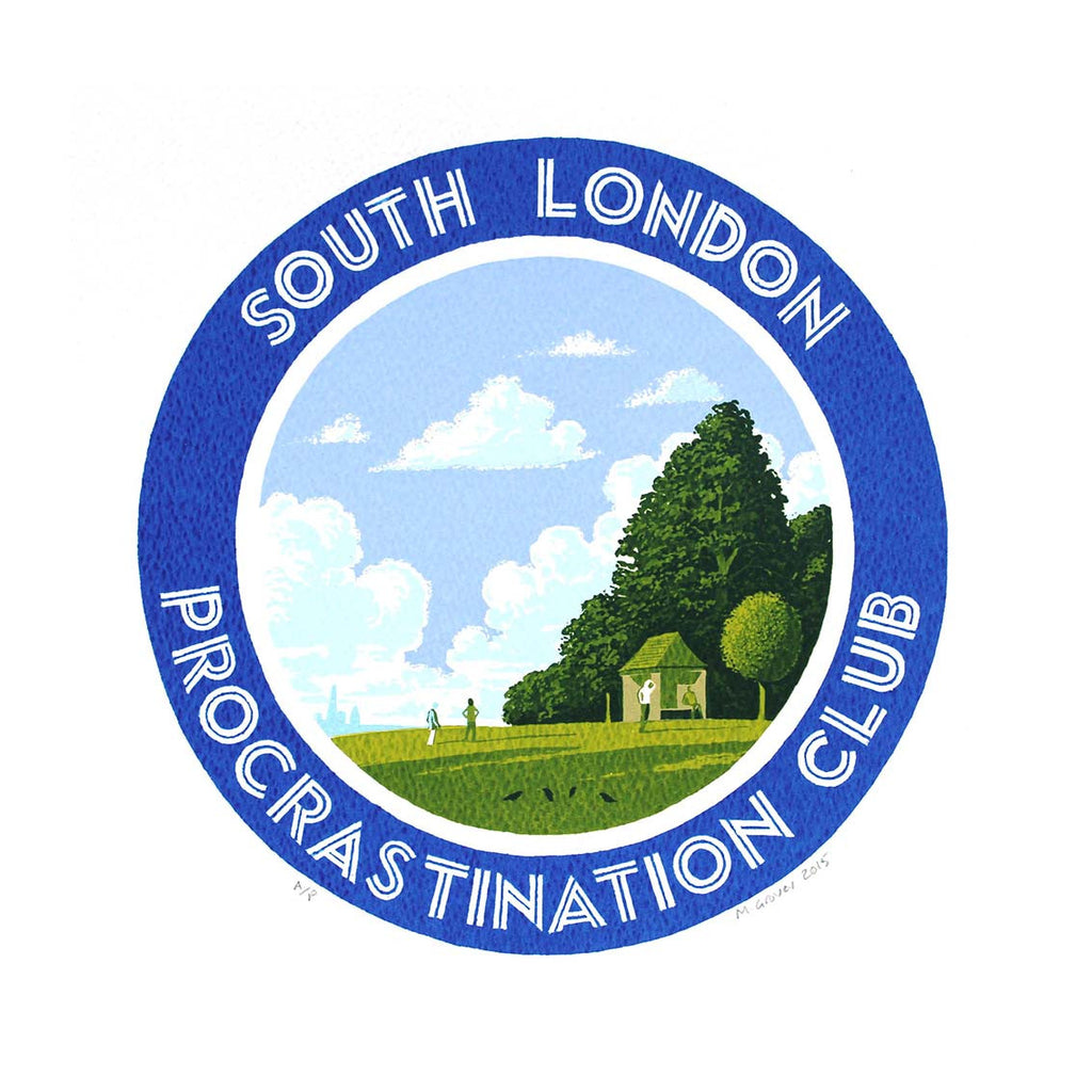 Martin Grover - South London Procrastination Club - 2015