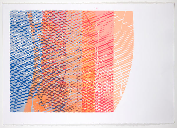 Natalie Ryde - Shift  #7 - Abstract print