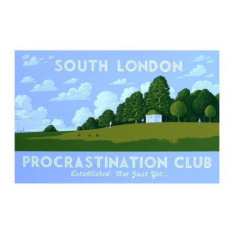 Martin Grover - South London Procrastination Club