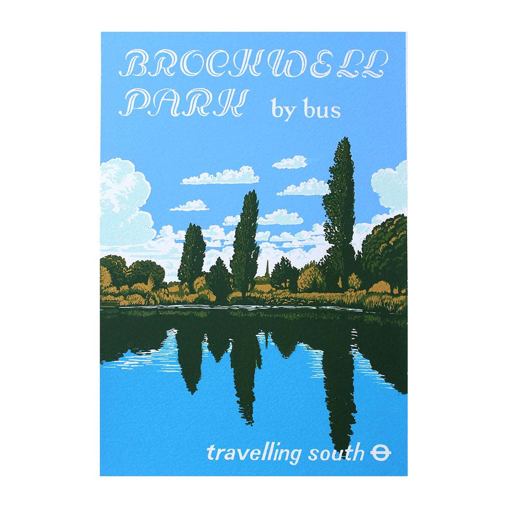 Martin Grover - Travelling South, Brockwell Park By Bus - 2014