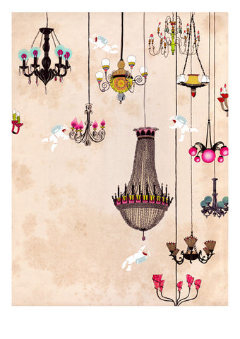 Delphine Lebourgeois - Chandeliers print