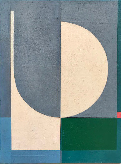 Jane Fredericks -  Colour Study Grey + Green   - 2020