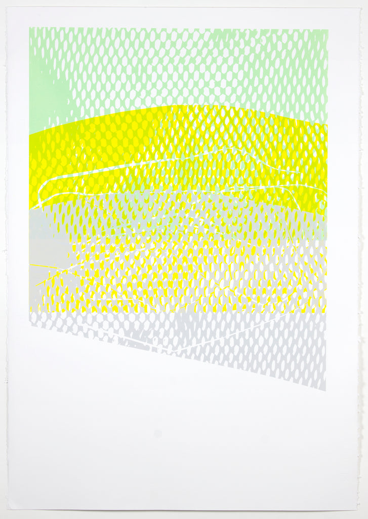 Natalie Ryde -Shift #5 - Abstract screenprint