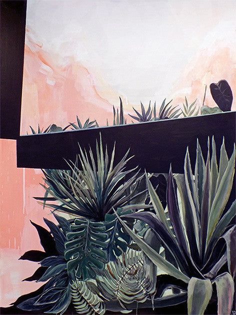 Marleen Penning Plants on Pink