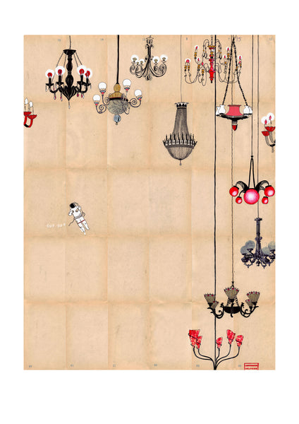 Delphine Lebourgeois, Sky of Chandeliers