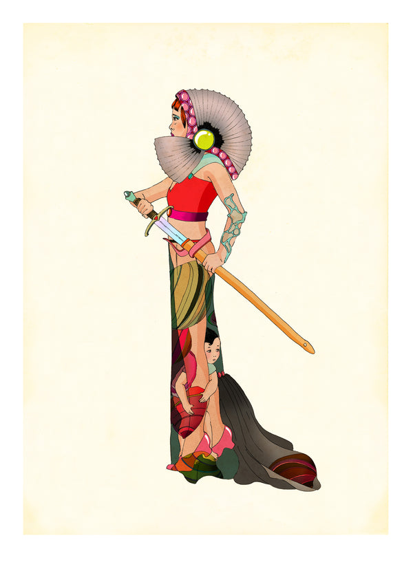 Delphine Lebourgeois - Limited Edition Series 'Amazonians' - Full set