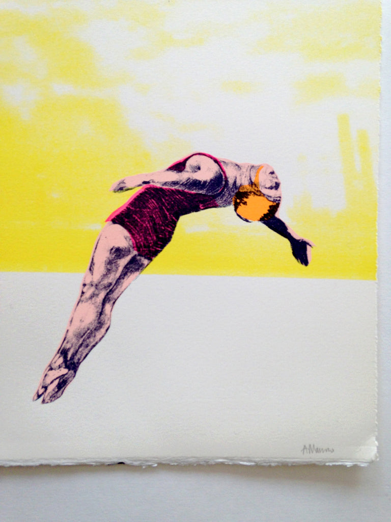 Anna Marrow - Yellow Divers - 2016