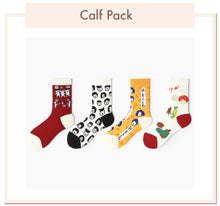 Load image into Gallery viewer, Long Calf Socks Pack