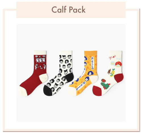 Long Calf Socks Pack