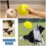 Load image into Gallery viewer, Indoor Gliding Squeaky Dog Toy