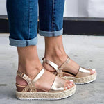 Load image into Gallery viewer, Women's Espadrilles Platform Sandal