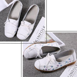 Load image into Gallery viewer, Women's Sweet Flat Lace Casual Shoes
