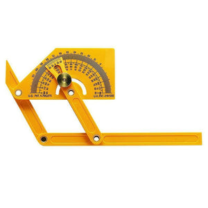 Plastic Protractor and Angle Finder