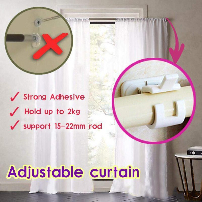 Magic Adjustable Curtains Organized Storage Rack