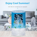 Load image into Gallery viewer, Round Portable Mini Air Cooler